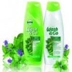 Жизнен обем  с новата формула на  Wash & Go
