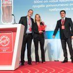 """Coca-Cola Канела без захар с отличие """"Продукт на годината"""" за 2019 г."""
